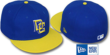 Nationals '2T-FASHION ALTERNATE' Royal-Yellow Fitted Hat by New Era