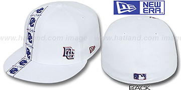 Nationals FLAWLESS CUBANO White Fitted Hat by New Era