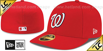 Nationals 2017 LOW-CROWN ONFIELD HOME Fitted Hat by New Era