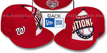 Nationals MASCOT-ZOOM Red Fitted Hat by New Era