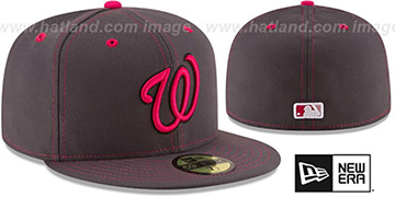 Nationals 'MOTHERS DAY' Fitted Hat by New Era