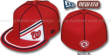 Nationals PROREV Fitted Hat by New Era
