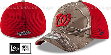 Nationals 'REALTREE NEO MESH-BACK' Flex Hat by New Era
