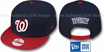 Nationals 'REPLICA ALTERNATE SNAPBACK' Hat by New Era