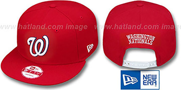 Nationals 'REPLICA HOME SNAPBACK' Hat by New Era