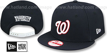 Nationals REPLICA ROAD SNAPBACK Hat by New Era
