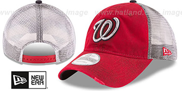 Nationals 'RUSTIC TRUCKER SNAPBACK' Hat by New Era