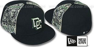 Nationals 'SHOWMEDA$' Black-Money Fitted Hat by New Era