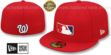 Nationals TEAM MLB UMPIRE Red Hat by New Era