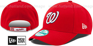 Nationals 'THE-LEAGUE GAME STRAPBACK' Red Hat by New Era