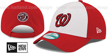 Nationals 'THE-LEAGUE STRAPBACK' White-Red Hat by New Era