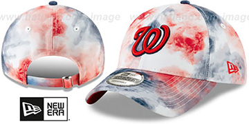 Nationals TIE-DYE STRAPBACK Hat by New Era