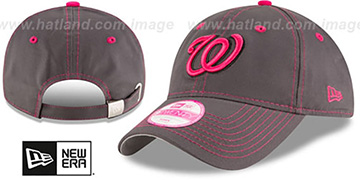 Nationals 'WOMENS MOTHERS DAY STRAPBACK' Grey Hat by New Era