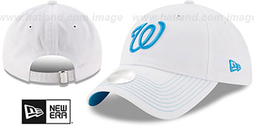 Nationals WOMENS POP PREFERRED PICK STRAPBACK White-Blue Hat by New Era