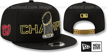 Nationals 'WORLD SERIES CHAMPIONS PARADE SNAPBACK' Hat by New Era