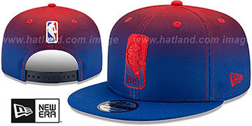 NBA 'BACK HALF FADE SNAPBACK' Hat by New Era