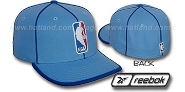 NBA 'WILDSIDE' Fitted Hat by Reebok - columbia