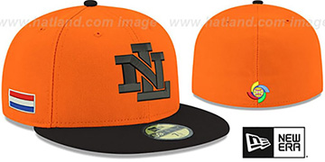 Netherlands 'PERFORMANCE WBC-2' GAME Hat by New Era