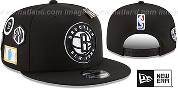 Nets '2018 NBA DRAFT SNAPBACK' Black Hat by New Era