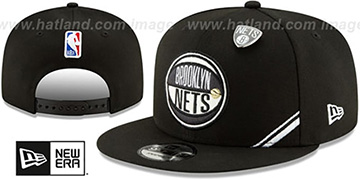 Nets 2019 NBA DRAFT SNAPBACK Black Hat by New Era