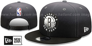 Nets BACK HALF FADE SNAPBACK Hat by New Era