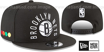 Nets 'CITY-SERIES SNAPBACK' Black Hat by New Era