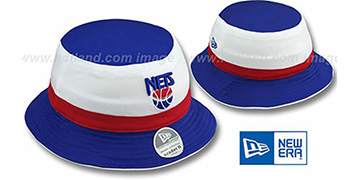 Nets HW 'CRADER II' Bucket Hat by New Era