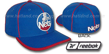 Nets HW 'WILDSIDE' Fitted Hat by Reebok - royal