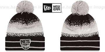 Nets 'SPEC-BLEND' Knit Beanie Hat by New Era
