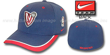 Nets 'SWINGMAN' Flex Hat by Nike - navy