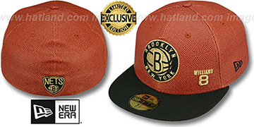 Nets WILLIAMS BASKET-BALLIN Fitted Hat by New Era
