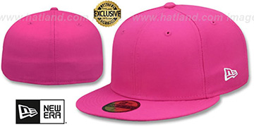New Era 59FIFTY-BLANK Beetroot Fitted Hat