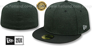 New Era 59FIFTY-BLANK Black Shadow Tech-Black  Fitted Hat