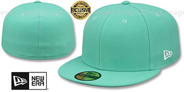 New Era 59FIFTY-BLANK Mint Fitted Hat