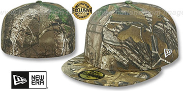 New Era '59FIFTY-BLANK' Realtree Camo Fitted Hat