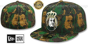 New Era BEN FRANKLIN Army Camo Fitted Hat