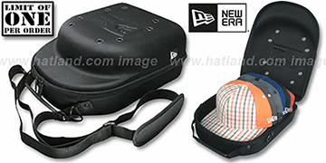 New Era BLACK 'CAP CARRIER' Case: 3 or More Special