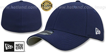 New Era DIAMOND TECH '39THIRTY-BLANK' Navy Flex Fitted Hat