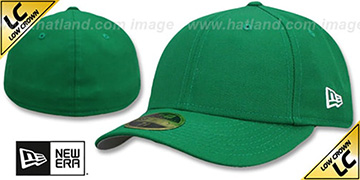 New Era LOW-CROWN 59FIFTY-BLANK Kelly Green Fitted Hat