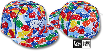 New Era MULTI 'DICE' Fitted Hat