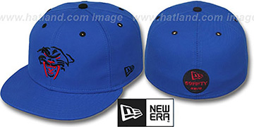 New Era 'SABRETOOTH' Blue Fitted Hat
