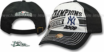New York Yankees Authentic 2009 'AL Eastern Division Champions' hat by Twins