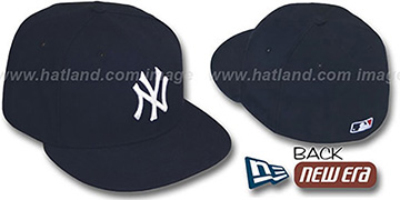 New York Yankees 1999-2006 GAME Hat by New Era