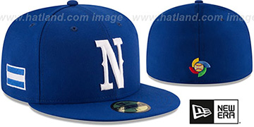 Nicaragua 'PERFORMANCE WBC-2' Royal Hat by New Era