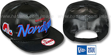 Nordiques REDUX SNAPBACK Black Hat by New Era