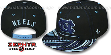 North Carolina 'KONA SNAPBACK' Hat by Zephyr