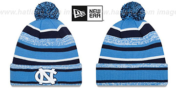 North Carolina 'NCAA-STADIUM' Knit Beanie Hat by New Era