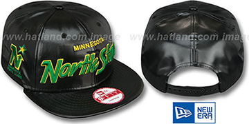 North Stars REDUX SNAPBACK Black Hat by New Era