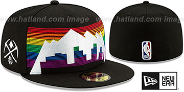 Nuggets 19-20 CITY-SERIES Black Fitted Hat by New Era