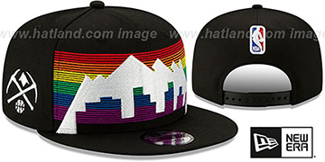 Nuggets 19-20 CITY-SERIES SNAPBACK Black Hat by New Era